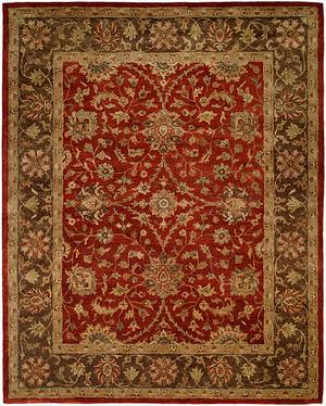 Kalaty Empire EM-289 Rust-Brown Area Rug
