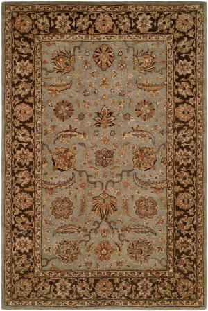 Kalaty Empire EM-293 Light Blue/Brown Area Rug