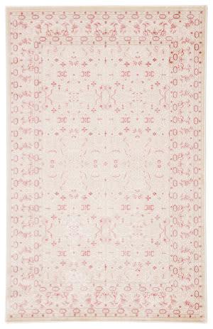 Famous Maker Fabiola Bristol Fb-11810 Ivory - Pink Area Rug