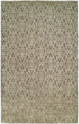 Kalaty Gramercy GR-674 Grey / Terracotta Area Rug