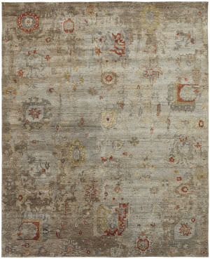 Famous Maker Obelia 100086 Vintage Earth Area Rug