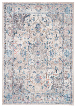 Famous Maker Ostia Caroli Ost-1020 Blue - Gray Area Rug