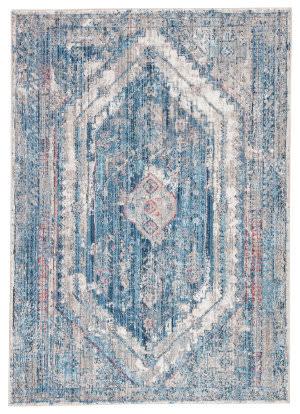Famous Maker Ostia Navi Ost-1040 Blue - Gray Area Rug