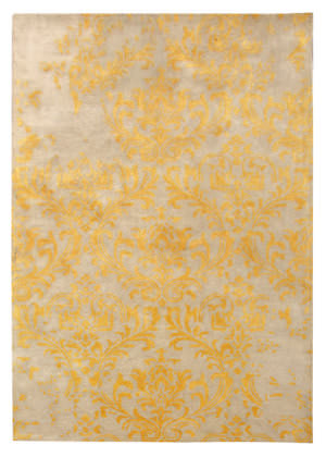 Famous Maker Transitional Pbw-819a Beige - Gold Area Rug