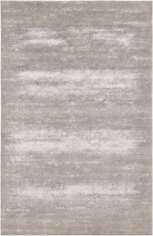 Famous Maker Modern Pdt-1716-1 Toupe - Silver Area Rug