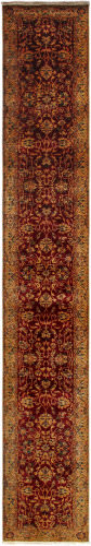 Famous Maker Crown Jewel Ph-162 Red - Beige Area Rug