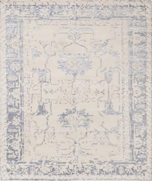 Famous Maker Florence Praya-02 Beige - Blue Area Rug