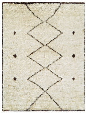 Famous Maker Moroccan Psl-02-3 Beige - Brown Area Rug