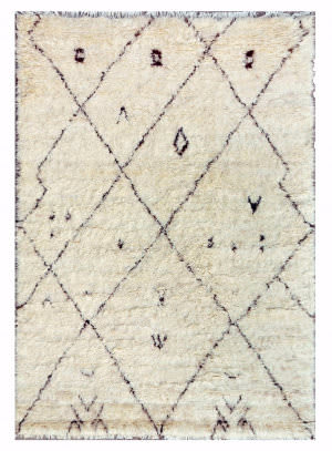 Famous Maker Moroccan Psl-3298 Beige - Brown Area Rug