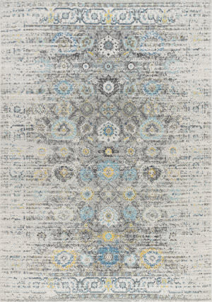 Famous Maker Chelsea Rc-5586ss Silver Area Rug