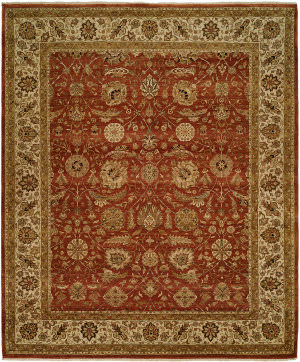 Famous Maker Sharone 100467 Red Area Rug