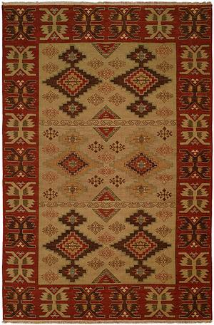 Famous Maker Soumak 340 MULTI Area Rug