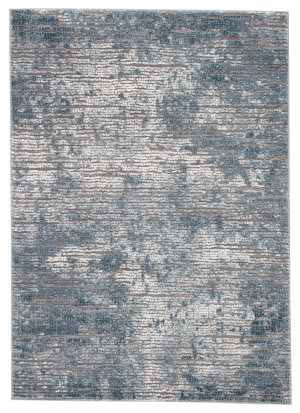 Famous Maker Tresalan Galaway Trs-1030 Blue - Gray Area Rug