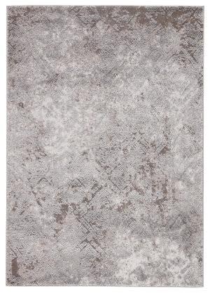 Famous Maker Tresalan Gratz Trs-1070 Gray - White Area Rug