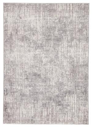 Famous Maker Tresalan Elmira Trs-1080 Light Gray - White Area Rug