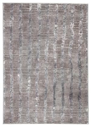 Famous Maker Tresalan Ravine Trs-1100 Gray - White Area Rug