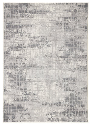 Famous Maker Tresalan Whitman Trs-1110 Gray - White Area Rug