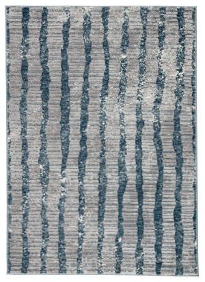 Famous Maker Tresalan Ravine Trs-1120 Blue - Gray Area Rug
