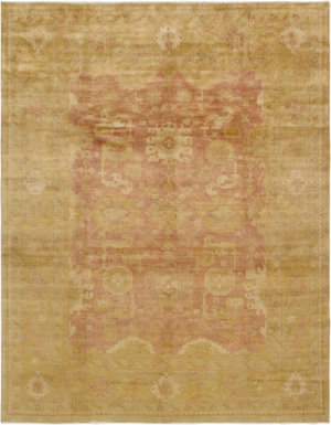 Famous Maker Oushak Pa Rust - Gold Area Rug