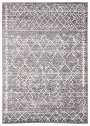 Famous Maker Valarie Apana Val-1050 Gray - White Area Rug