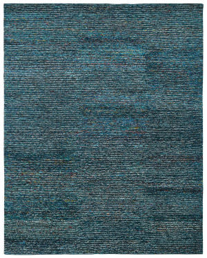 Famous Maker Vista 100612 Peacock Blue Area Rug