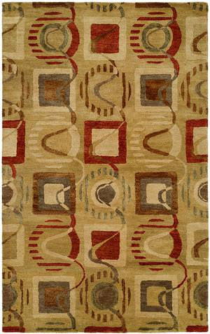 Kalaty Empire Em-310 Green Area Rug