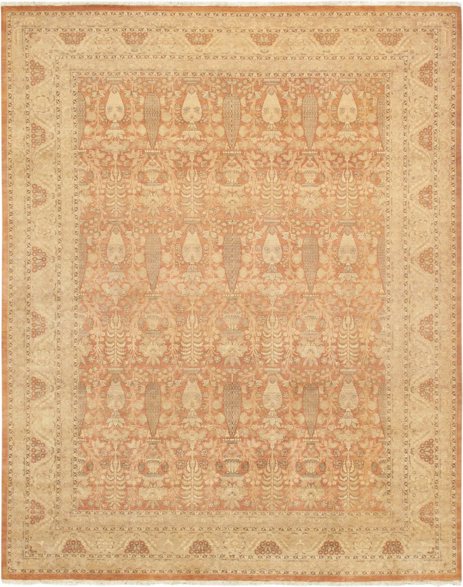 Famous Maker Tabriz P Srlk Rose Tan Rug Studio