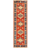 Famous Maker Nomad Pqr-56 Rust - Navy Area Rug