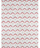 Famous Maker Galaxy Ptx-3520 Silver - Red Area Rug