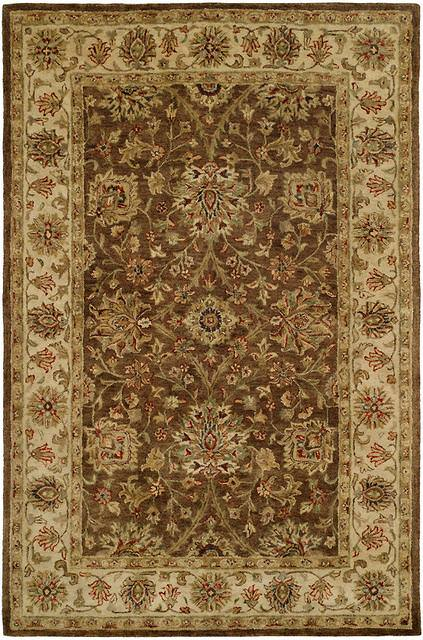 Kalaty Empire Em 284 Brown Ivory Area Rug