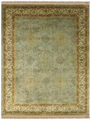 Feizy Amore 8239f Ocean - Beige Area Rug