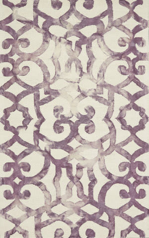 Feizy Lorrain 8564f Violet Area Rug