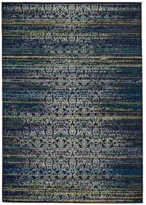 Feizy Brixton 3598f Midnight Blue Area Rug