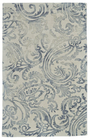 Feizy Baxter 8372f Gray Area Rug