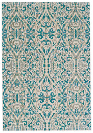 Feizy Keats 3466f Turquoise Area Rug