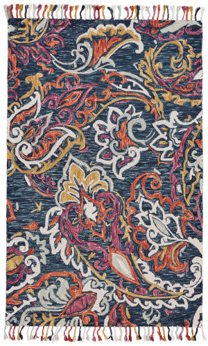 Feizy Abelia 8672f Orchid - Blue Area Rug