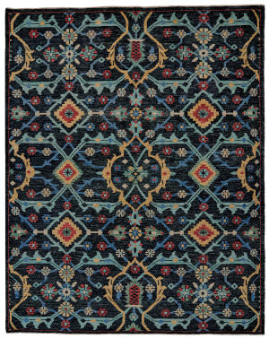 Feizy Piraj 6454f Blue Area Rug