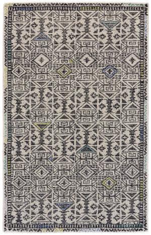 Feizy Arazad 8447f Black - Line Area Rug