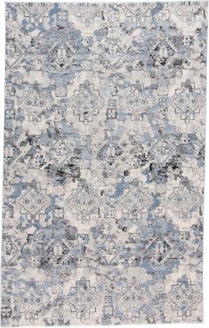 Feizy Ainsley 3896f Blue - Tan Area Rug
