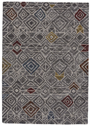 Feizy Turvey 8728f Charcoal - Multi Area Rug