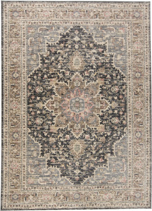 Feizy Grayson 3578f Gray - Charcoal Area Rug