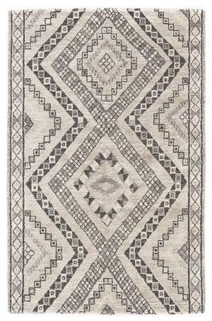 Feizy Abytha 6460f Dark Gray - Ivory Area Rug