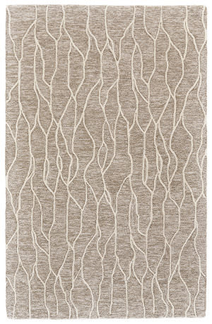 Feizy Enzo 8734f Ivory - Gray Area Rug