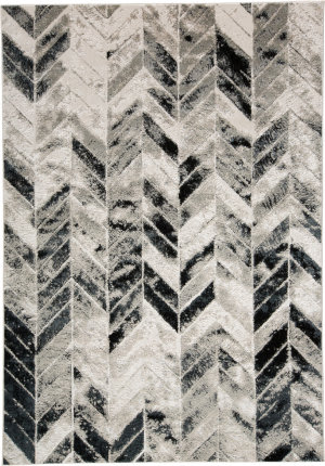 Feizy Micah 3048f Gray - Silver Area Rug