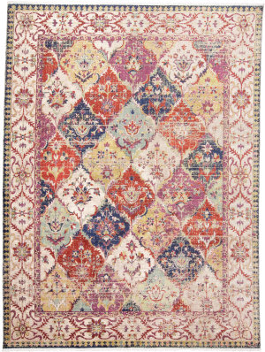 Feizy Torina 3882f Red - Multi Area Rug