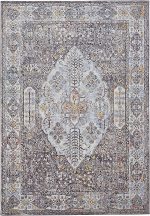 Feizy Armant 3906f Gray - Multi Area Rug