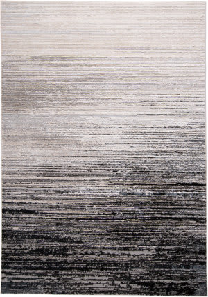 Feizy Micah 3337f Black - Dark Gray Area Rug