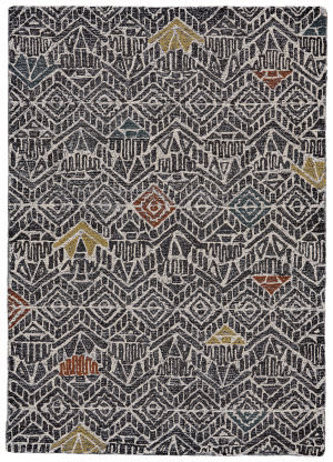 Feizy Turvey 8731f Charcoal - Multi Area Rug
