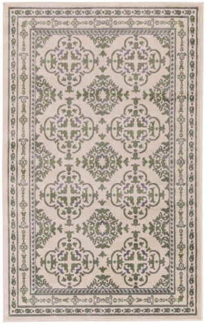 Feizy Aileen I3123 Green - Cream Area Rug