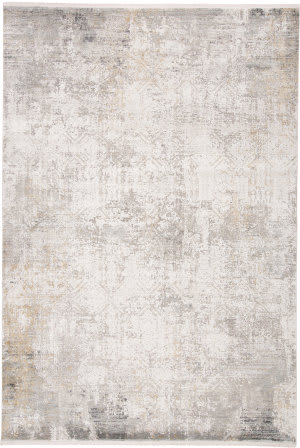 Feizy Cadiz 3892f Light Gray - Ivory Area Rug